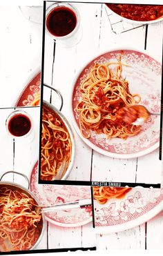 Spaghetti all'Amatriciana (proste)