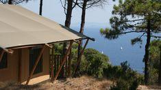 Tenuta delle Ripalte Elba, Glamping, Gazebo, Tent, Outdoor Structures, Patio, Outdoor Decor, Holiday, Home Decor