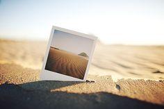 sand & polaroid