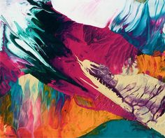 Painting by Theo Altenberg via @Design Milk