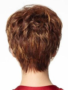 back view of wedge hair styles | Short Hair Cut Back View Short Hair Styles Beautiful Grey