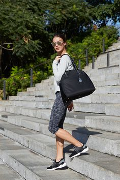 The O.G. is a high-quality lightweight bag that is designed for the demands of the on-the-go lifestyle. Thoughtfully designed with features to help you stay organized including a built in laptop sleeve, interior pockets, side shoe pocket and back panel suitcase sleeve. Perfect for work, travel and gym. #loandsons