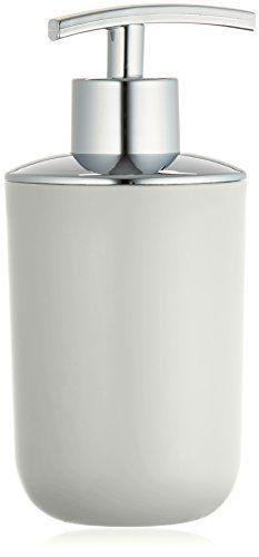 Wenko 21204100 Soap dispenser Brasil White unbreakable, Plastic TPE, 7.3 x 16.5 x 9 cm, White by Wenko WENKO http://www.amazon.com/dp/B01AS7AV3K/ref=cm_sw_r_pi_dp_1YQTwb12GZWP0