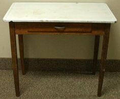 19 best porcelain top table ideas images vintage kitchen vintage rh pinterest com