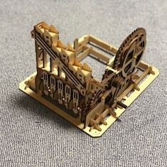 Puzzle en bois 3D Maquette DIY Puzzle mecanique Mecapuzzle DIY  Loisirs créatifs Idée cadeau Puzzle Laser, Bookends, Puzzle, 3d, Home Decor, Creative Crafts, Gift Ideas, Puzzles, Decoration Home
