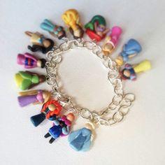Una pulsera de princesas :-)