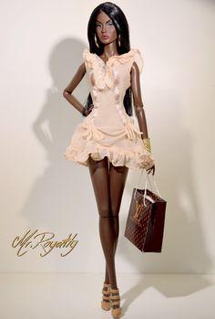 Rayna par -Monster-Royalty- - Shoot The Doll Fashion Royalty Dolls, Fashion Dolls, Manequin, African American Dolls, Beautiful Barbie Dolls, Black Barbie, Barbie Clothes, Barbies Dolls, Little Doll