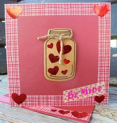 Jar Of Hearts, Half Price, Valentine Day Cards, My Etsy Shop, Awesome, Unique Jewelry, Handmade Gifts, Vintage, Valentine Ecards