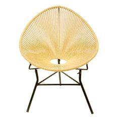 Super vette Chill stoel van gevlochten touw! Deze stoel ziet er niet alleen ontzettend mooi uit maar zit ook nog eens comfortabel! | www.homeseeds.nl