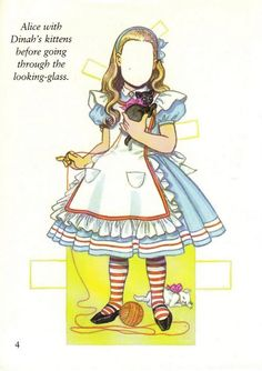 Favorite Storybook Characters Paper Doll  Sample Costume