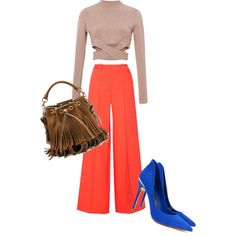 A fashion look from March 2015 featuring Jonathan Simkhai sweaters, Milly pants and Ted Baker pumps. Browse and shop related looks.