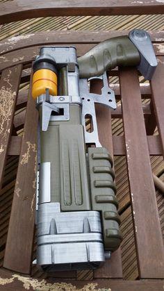 Fallout 4 Laser Pistol by atrum-lupus
