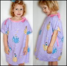 Hospital Gown - Child Sizes 3-8 | YouCanMakeThis.com