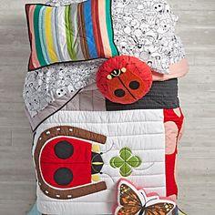 Charley Harper Lucky Ladybug Bedding