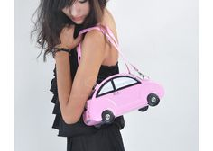 Stylish Women's Shoulder Bag With Car Pattern and Double Handle Design (BLACK) China Wholesale - Sammydress.com