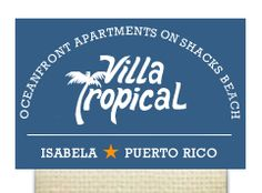 Villa Tropical apartment rental puerto rico where i am staying for Erin's wedding!