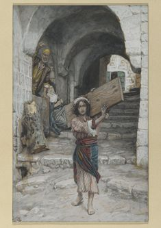 """The Youth of Jesus"" by James Tissot"
