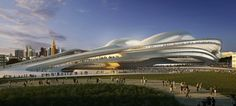 Japanese Architects Protest Zaha Hadid's 2020 Olympic Stadium