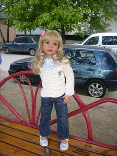 Раз, два, три, четыре, пять: Собираемся гулять.Коллекционные куклы от Moniki Levenig / Бэйбик uiuhvkl / Бэйбики. Куклы фото. Одежда для кукол Reborn Child, Reborn Toddler Girl, Toddler Dolls, Reborn Dolls, Reborn Babies, Pretty Baby, Doll Stuff, Bjd, Bears