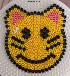 smile Hama beads