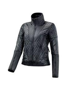 Stella McCartney Adidas Black Quilted Ski Jacket