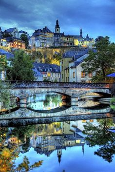 Luxembourg City. Grand Duchy of Luxenbourg
