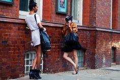 "Friday, November 6, 2009  ""On the Street….Garance at Work, NYC"""