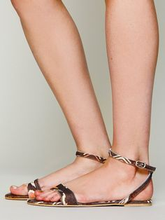 Free People Toulouse Sandal, 48.00