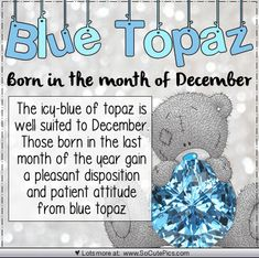 Birthstone of the month - April Teddy Images, Cute Images, Teddy Pictures, Bear Pictures, Tatty Teddy, Teddy Bear Quotes, December Baby, November 17, Blue Nose Friends