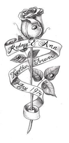 rose and banner tattoo design sketch rose tatoo sketch Rose Tattoos, Body Art Tattoos, Sleeve Tattoos, Tatoos, Dandelion Tattoos, Color Tattoos, Zodiac Tattoos, Rose Drawing Tattoo, Tattoo Sketches