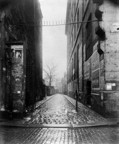View of Paris, Eugene Atget, Bw Photography, Street Photography, Rue Des Archives, Eugene Atget, Musee Carnavalet, Berenice Abbott, Old Paris, Paris Ville, French Photographers