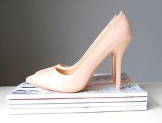 nude shoes heels wedding wonderland