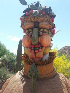 Winter Sculpture Desert Botanical Garden Phoenix, Botanical Gardens, Samurai, Deserts, Sculpture, Winter, Art, Winter Time, Art Background