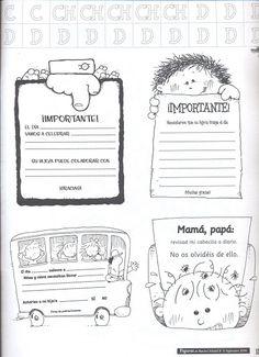 Notas importantes para enviar a los padres del colegio. Notes To Parents, Tools For Teaching, English Activities, Kids Corner, Teacher Hacks, Love My Job, Classroom Activities, Second Grade, Teacher Resources