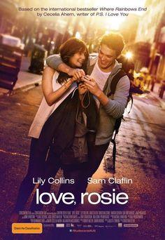 Love, Rosie「真愛繞圈圈」 媽媽不斷的把這片講成「真愛亂糟糟」 聽起來怎麼變成限制級?哈哈哈!