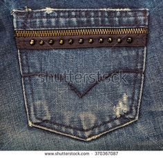 Jeans Fotos, imágenes y retratos en stock | Shutterstock Short Jeans, Estilo Denim, Back Bag, Mode Jeans, Denim Ideas, En Stock, Boys Pants, Denim Fashion, Denim Pants