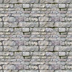 Grey Stone Wall