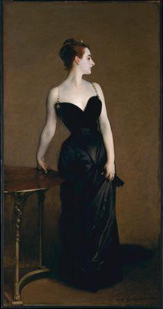 Madame X (Madame Pierre Gautreau) by John Singer Sargent I'll always love this. H