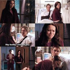 One of the best moments for Lucas and Haley, all thanks to Nate.