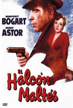 El halcón maltés (1941) EEUU. Dir: John Huston. Cine negro. Suspense - DVD CINE 190