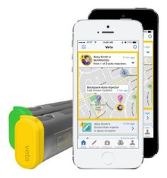 Veta is an EpiPen smart case that can alert family members when someone needs to…