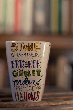 Harry Potter Mug (I could totally recreate something like this, right?)