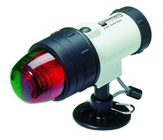 Innovative Lighting Marine Portable LED Navigation Light- Bow Light, Inflatable Base at Lowe's. Innovative Lighting's Marine Portable LED Navigation Light requires four AA batteries (not included). Features a molded one piece white body and shock Portable Led Lights, Bow Light, Lighting Inc, Marine Lighting, Pile Aa, Inflatable Boat, Lumiere Led, Assemblage, Survival Tools