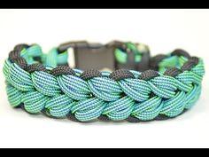 "Make the ""Fiasco"" Design Paracord Survival Bracelet - BoredParacord.com - YouTube"
