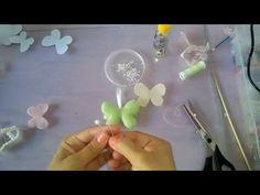 Chaveiro Borboleta de feltro - YouTube