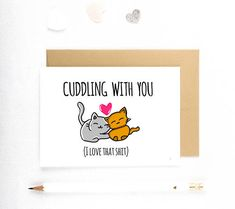 Birthday Cards For Boyfriend, Valentines Gifts For Boyfriend, Valentine Day Cards, Boyfriend Crafts, Boyfriend Humor, Boyfriend Card, Funny Love Cards, Cute Cards, Funny Anniversary Cards