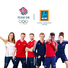 At Aldi UK we're championing the great and we're proud to support all our Team GB athletes on their road to Rio and beyond.