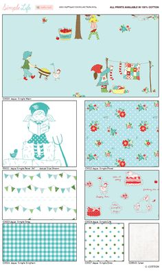 Riley Blake The Simple Life ~ Can't wait for Tasha's fabric to be released!!!!