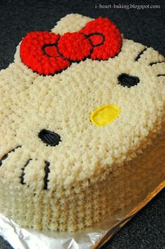 Another idea for Ari's 2nd birthday--Hello Kitty. I made a similar cake for Lexi's 3rd birthday free handed and it was adorable. Ari loves Hello Kitty.