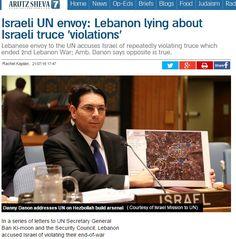 LA MENTIRA COMO ARMA POLITICA. Nawaf Salam, representante del Líbano ante la ONU, ha enviado una serie de cartas el Secretario General de la ONU en la que básicamente se dedicaba a mentir. Acusaba …